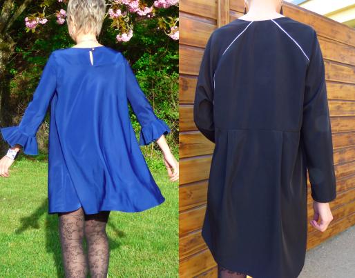 Une matière, deux robes