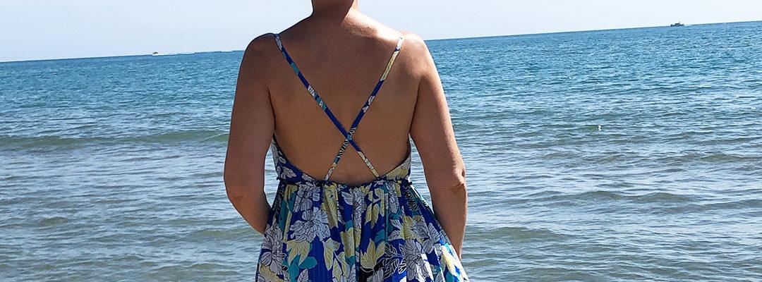 Cassandre à la plage